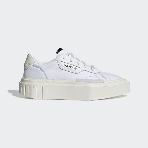 best sneakers c8e82 d038c adidas Hypersleek Shoes Ftwr White   Off White   Crystal White G54050