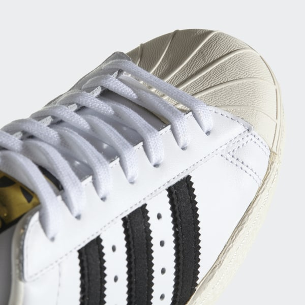 quality design b260f cea8b ZAPATILLAS ORIGINALS SUPERSTAR 80s (GUM OUTSOLE) WHITEBLACK 1CHALK 2  G61070
