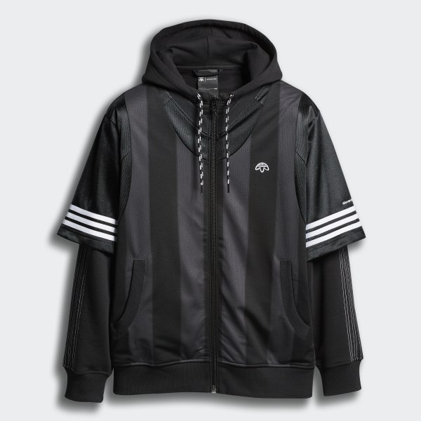 400c0e5b4e36 adidas Originals by AW Wangbody Hood Black DZ4614