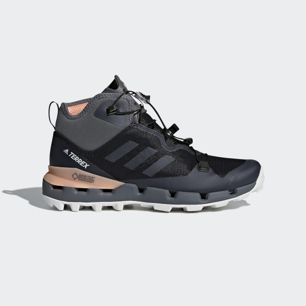low priced 54566 e1f3a Chaussure TERREX Fast Mid GTX-Surround Core BlackGrey FiveChalk Coral  AH2250