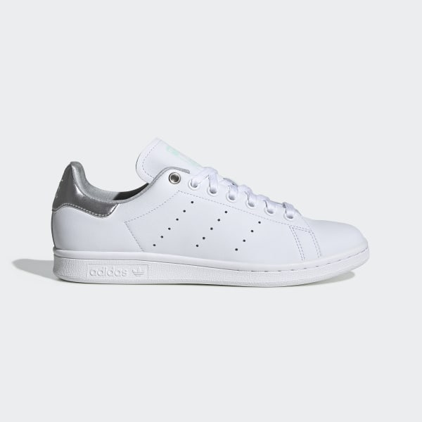 05a52a4f6d450 Stan Smith Shoes Ftwr White   Silver Met.   Clear Mint G27907