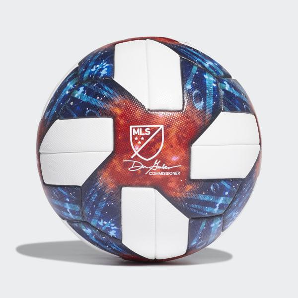 9d7295779fd MLS Official Game Ball White   Silver Metallic DN8698