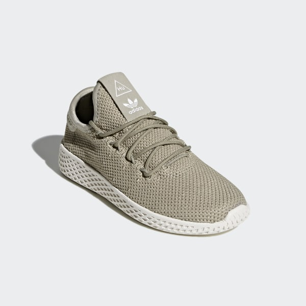 Pharrell Williams Tennis Hu Shoes Tech Beige Tech Beige Chalk White BB6836 b093f992c