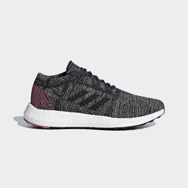 563f43a36361 Pureboost GO Shoes Carbon   Carbon   Trace Maroon B75667