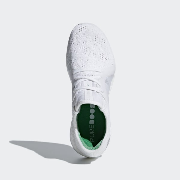 a687c2b6e Pureboost X Element Shoes Cloud White   Grey Two   Green BB6084