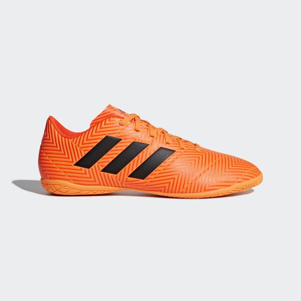 Chuteira Nemeziz Tango 18.4 Futsal ZEST CORE BLACK SOLAR RED DA9620 ec545b2a1cad5