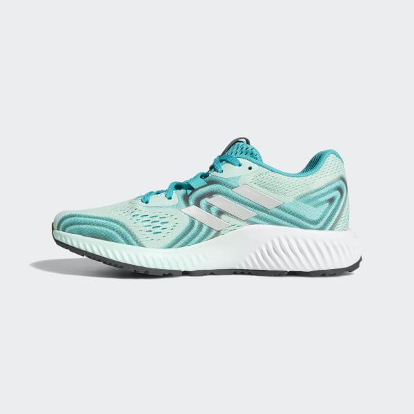 online retailer 807ce a6e2f Aerobounce 2 Shoes Hi-Res Aqua  Silver Metallic  Clear Mint AQ0538