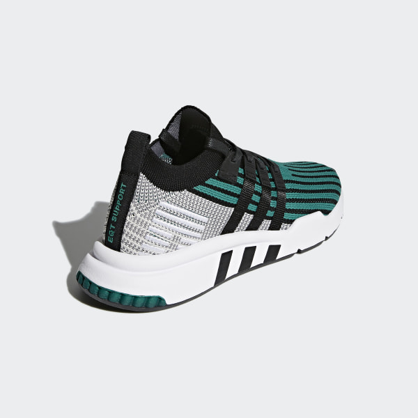 innovative design 70c50 86a6a EQT Support Mid ADV Primeknit Shoes Sub Green   Core Black   Core Black  CQ2998