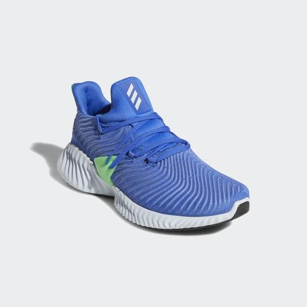 f9a5e0a7245 Alphabounce Instinct Shoes Hi-Res Blue   Aero Blue   Shock Lime CG5516