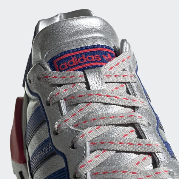 a52b2aa8c ZX930xEQT Shoes Silver Metallic   Power Blue   Shock Red EF5558