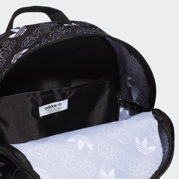 88fda7be3a6d Adicolor Backpack Medium Black   White DV0188
