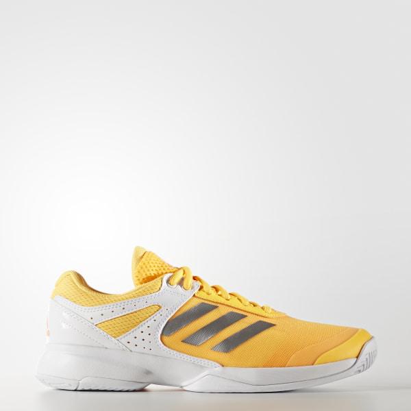 new concept c00d3 bcd83 Zapatos de Tennis adizero Court SOLAR GOLD SILVER MET. FTWR WHITE BB4814