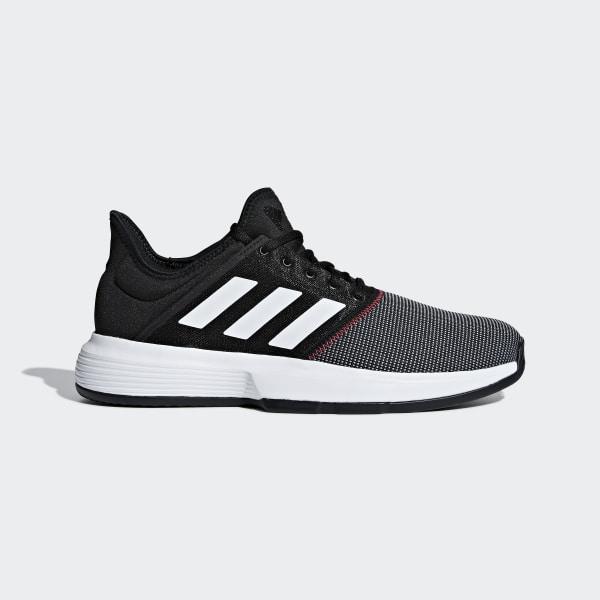 hot sale online 72306 81da3 Zapatillas GameCourt M core black   ftwr white   shock red CG6334