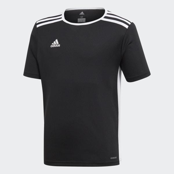 Camisa Entrada 18 Infantil BLACK WHITE CF1041 bd6e1434ebe8d