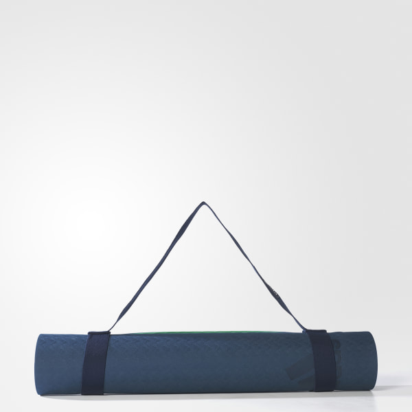 b12666175ed Yoga Mat Dark Petrol   Green   Legend Blue BQ6846