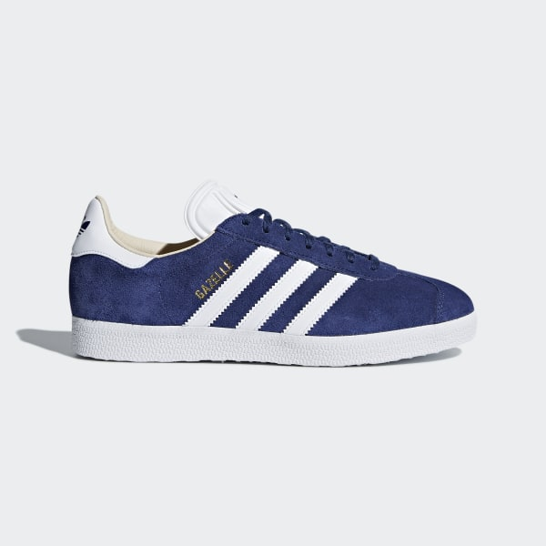 hot sale online e5422 e0992 Gazelle Shoes Noble Indigo  Cloud White  Linen CQ2187