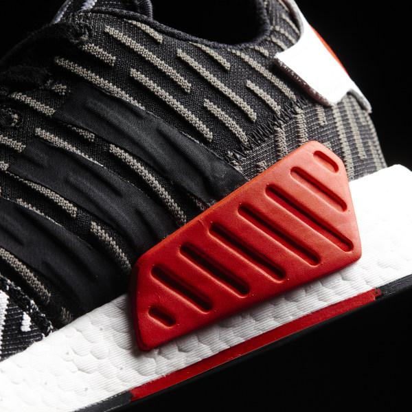 a66a21789921e NMD R2 Primeknit Shoes Core Black   Core Black   Cloud White BB2951