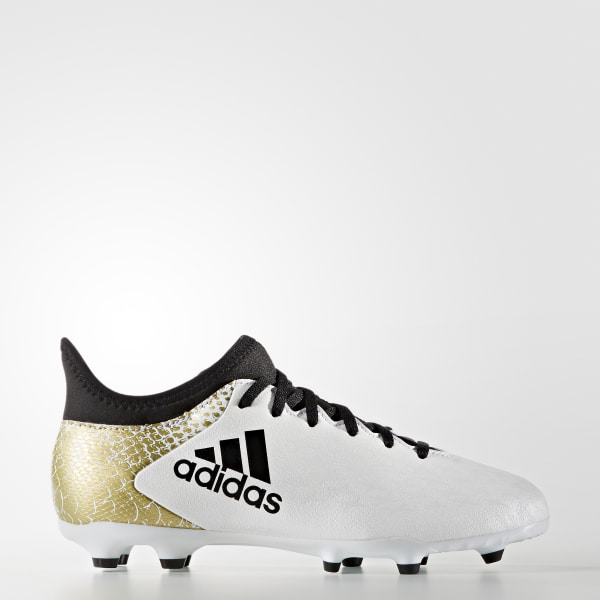 Calzado Fútbol X 16.3 FG Junior WHITE CORE BLACK GOLD MET. AQ4339 2ede46f879806