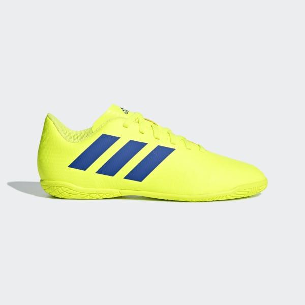 Chuteira Nemeziz Tango 18.4 Futsal solar yellow   football blue   active  red CM8519 941c6309e09f3