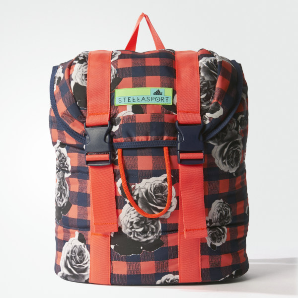 adidas STELLASPORT Printed Backpack Night Indigo   Flash Red AX7595 e107bdc5b73ce