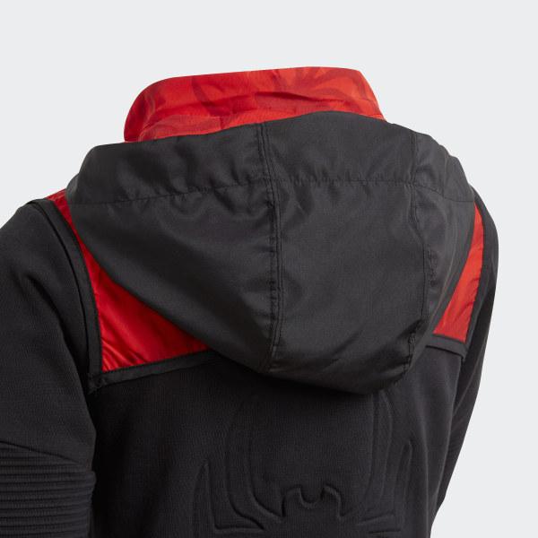 foto ufficiali fd9b9 5d662 Felpa con cappuccio Marvel Spider-Man - Nero adidas | adidas Switzerland