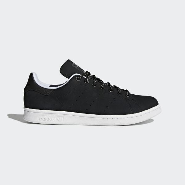 Stan Smith WP Shoes Core Black Core Black Hi-Res Red CQ3008 52e9d49d2