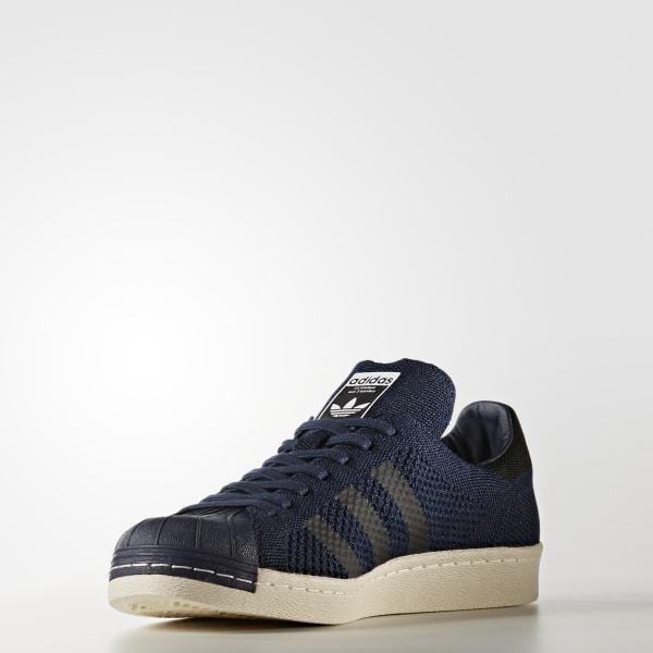 30a2975cd72e Superstar 80s Primeknit Shoes Collegiate Navy Core Black Onyx BZ0126