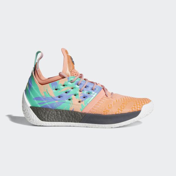 151c11081ef Harden Vol. 2 Shoes Chalk Coral Hi-Res Green Ftwr White AH2219