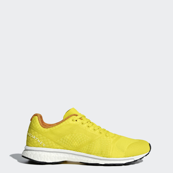 check out 2b46e d7841 adizero Adios Shoes Vivid Yellow  Pearl Rose  Cloud White S81045