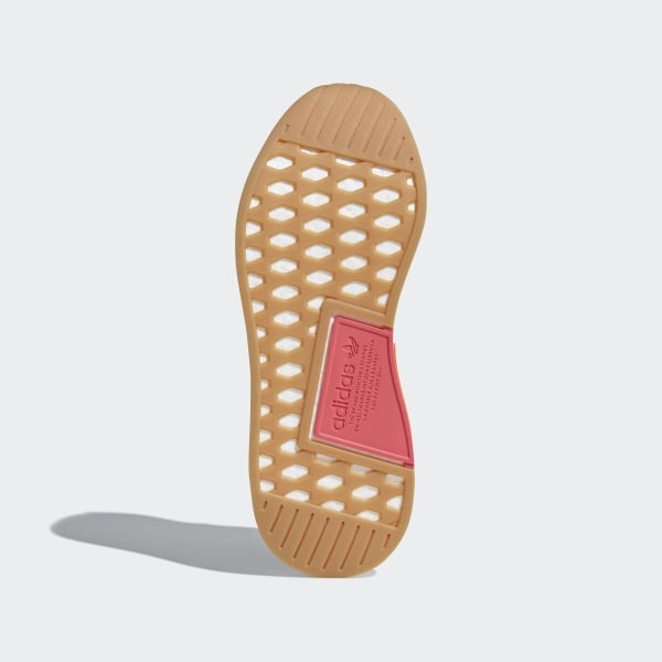 574ac0802 NMD R2 Summer Shoes Trace Orange   Gum 3   Ftwr White CQ3081