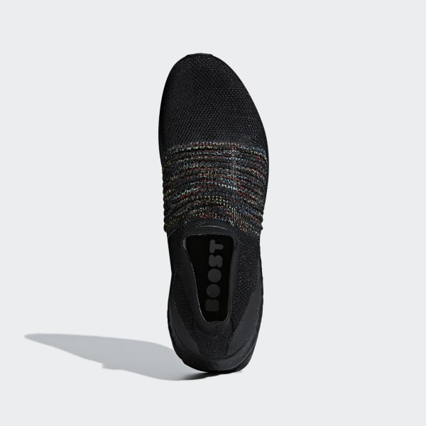 hot sale online 0e681 c2432 Chaussure Ultraboost Laceless Core Black   Shock Cyan   Shock Yellow B37685