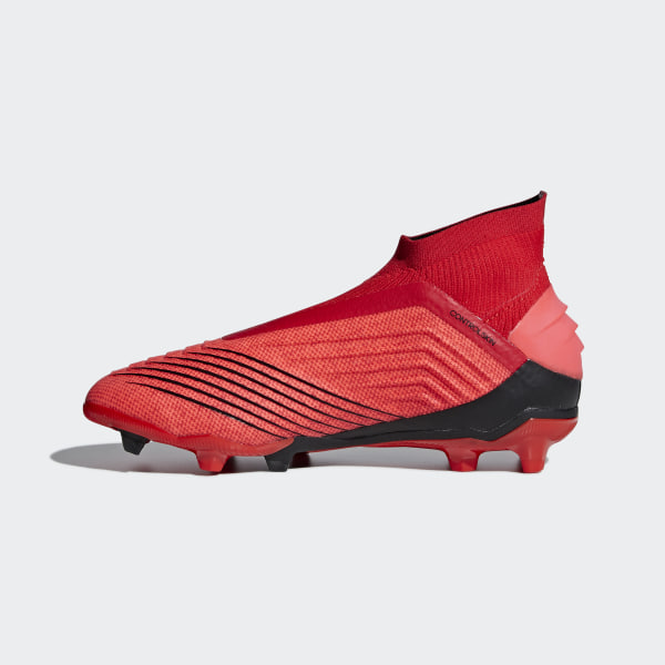 c33c2970cba0 Predator 19+ Firm Ground Cleats Active Red   Solar Red   Core Black CM8525