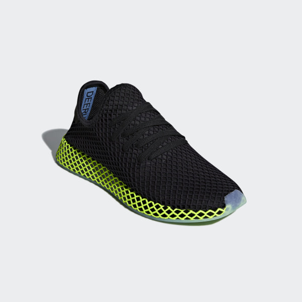 bf141f1c94bcb Deerupt Runner Shoes Core Black   Core Black   Ash Blue B41755