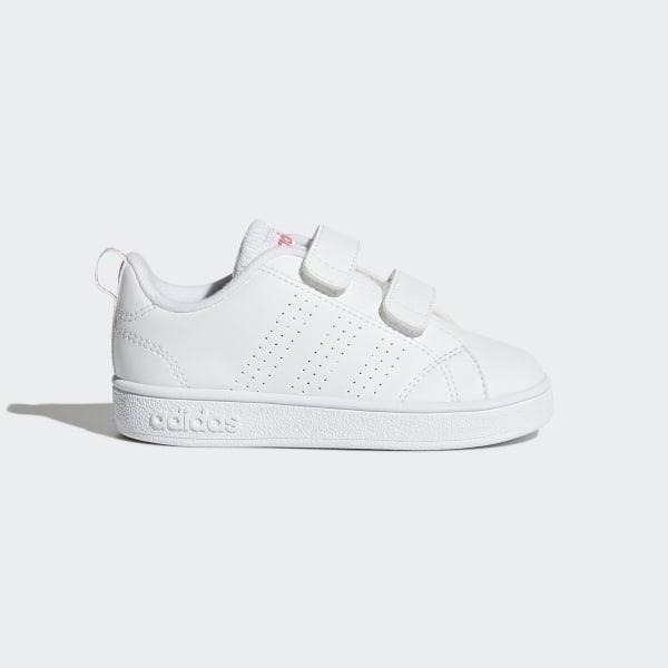 designer fashion 7d77f f6842 VS Advantage Clean sko Ftwr White  Ftwr White  Super Pink BB9980