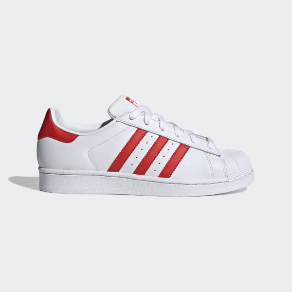 9d24a933318 Superstar Shoes Ftwr White   Active Red   Core Black CM8413