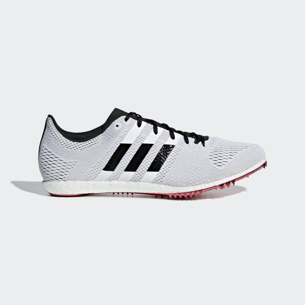 newest f53a5 3d05b Chaussure à pointes Adizero Avanti Ftwr White   Core Black   Shock Red  B37486