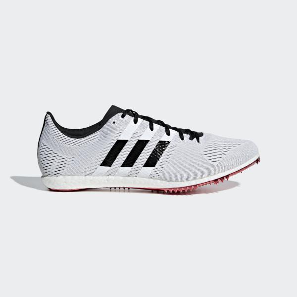 155e219b39f Sapatos de Bicos Adizero Avanti Ftwr White   Core Black   Shock Red B37486