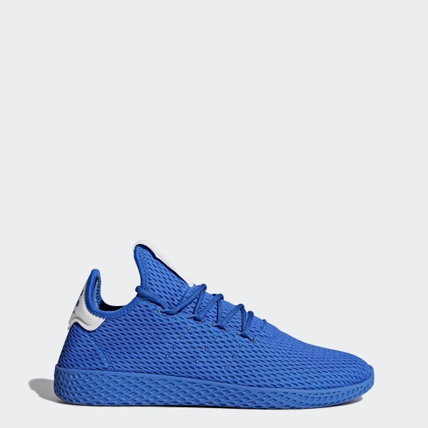 0a40b5373 Tenis Pharrell Williams Hu BLUE BLUE FTWR WHITE CP9766