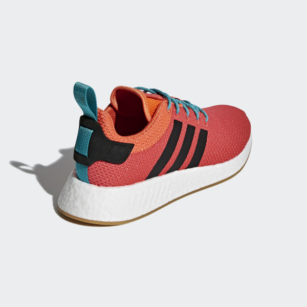 fc6bcd5d85962 NMD R2 Summer Shoes Trace Orange   Gum 3   Ftwr White CQ3081