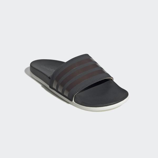 a572cb6fbb27 Adilette Comfort Slides Grey Six   Copper Metalic   Raw White F97200
