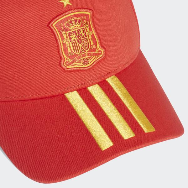 timeless design 24fd2 62682 Spain 3-Stripes Cap Red Bold Gold CF4953