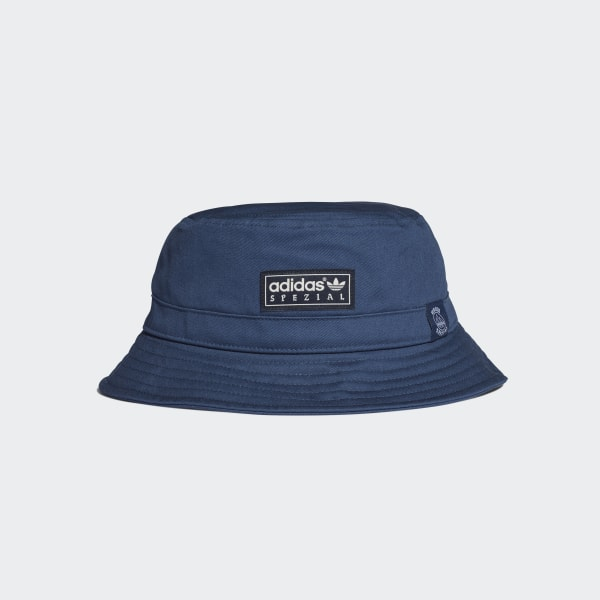 adidas Union Bucket Hat - Blue  475a0a9d402