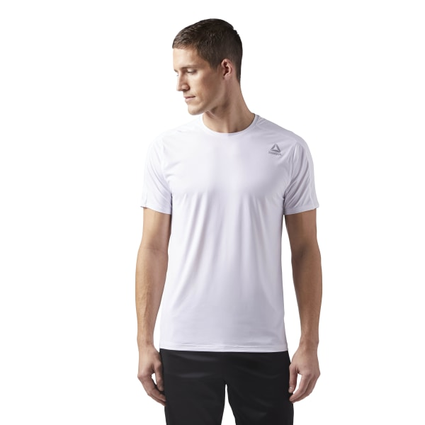 61c03fa3605a42 ... Reebok ACTIVCHILL Move Tee - White Reebok US lowest price 3cc36 ed500  ...