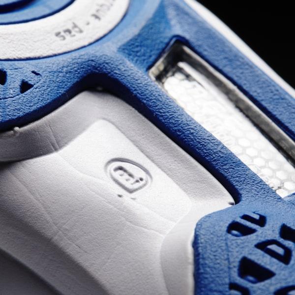 competitive price e89d4 e7f1b Zapatillas de Handball adipower Stabil 11 FTWR WHITE SILVER MET. BRIGHT  ROYAL M29549