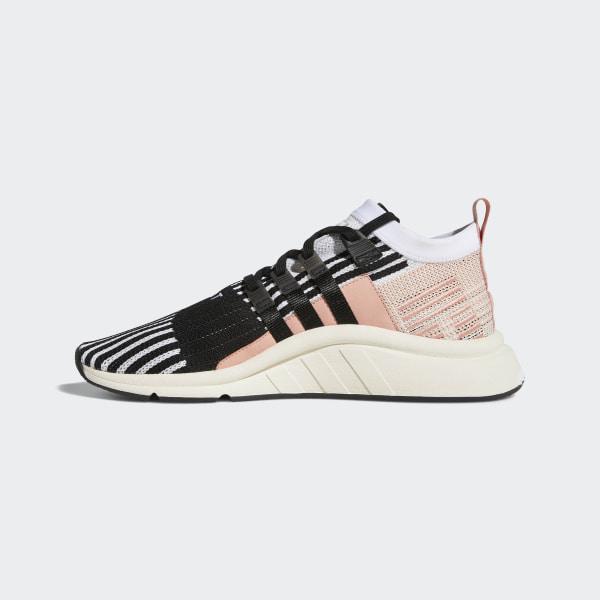 new product 98ea9 c5bc8 EQT Support Mid ADV Primeknit Shoes Cloud White   Core Black   Trace Pink  AQ1048