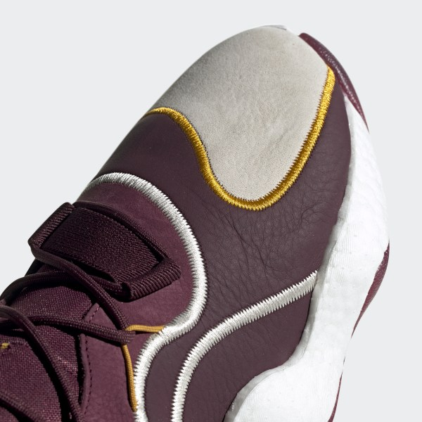 quality design fe29d b18d9 Eric Emanuel Crazy BYW Shoes Maroon  Cream White  Real Pink BD7242