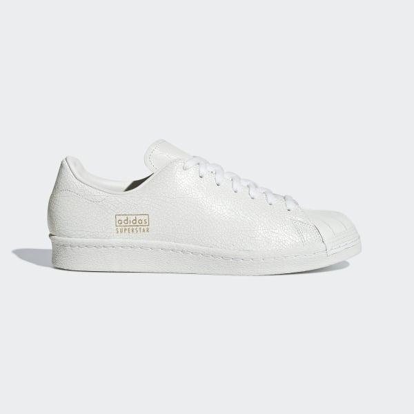 Details zu adidas Superstar 80s Clean white weiss Men Sneaker Herren Schuhe shoes