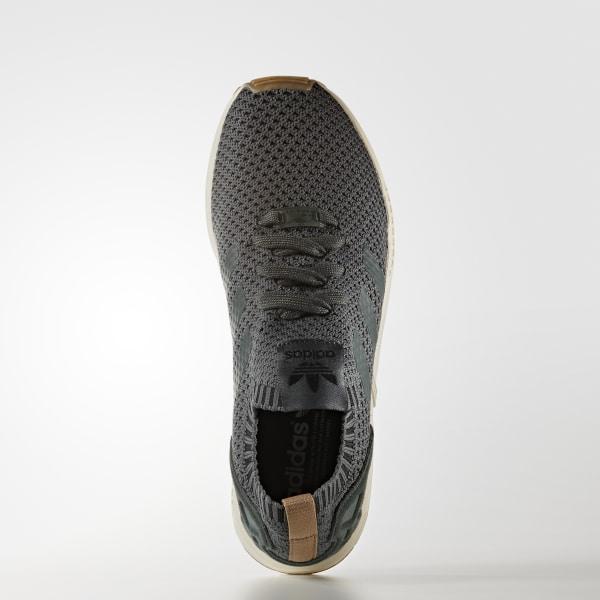 b97706b0cbe18 ZX Flux Primeknit Shoes Utility Ivy   Utility Ivy   Gum BA7373