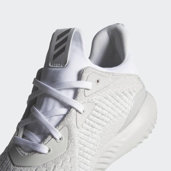los angeles faf42 dc52c Alphabounce EM Shoes Cloud White  Silver Metallic  Off White DB1092