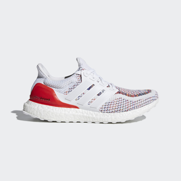 adb3f8d804099d ULTRABOOST Shoes Cloud White   Cloud White   Red BB3911